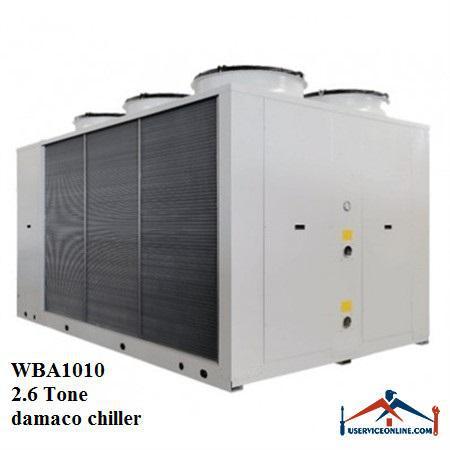 چیلر تراکمی هوایی اسکرال صنعتی بی کلد 2.6تن مدلWBA1010
