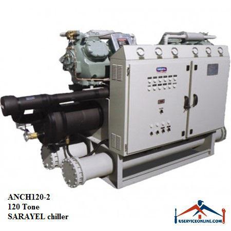 چیلر تراکمی هوایی سارائیل 120 تن ANCH120-2