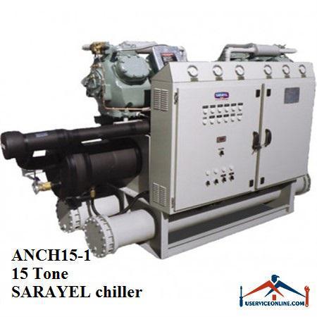 چیلر تراکمی آبی سارائیل 15 تن ANCH15-1