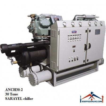 چیلر تراکمی هوایی سارائیل 30 تن ANCH30-2