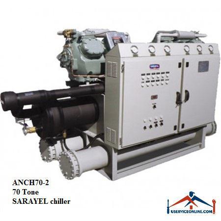 چیلر تراکمی هوایی سارائیل 70 تن ANCH70-2