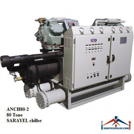 چیلر تراکمی هوایی سارائیل 80 تن ANCH80-2