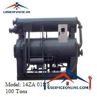 چیلر جذبی 100 تن زهش مدل 14ZA 010 S