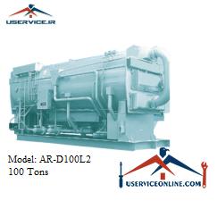 چیلر جذبی 100 تن سنچوری مدل AR-D100L2