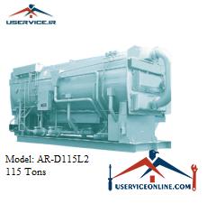 چیلر جذبی 115 تن سنچوری مدل AR-D115L2
