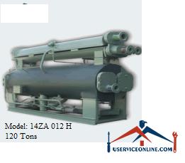 چیلر جذبی 120 تن زهش مدل 14ZA 012 H
