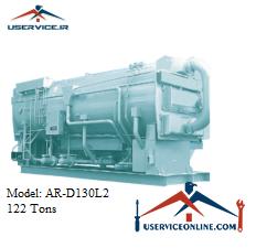 چیلر جذبی 122 تن شرکت سنچوری مدل AR-D130 L2