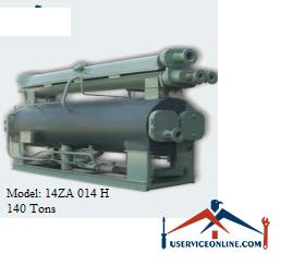 چیلر جذبی 140 تن زهش مدل 14ZA 014 H