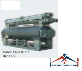 چیلر جذبی 180 تن زهش مدل 14ZA 018 H