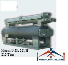 چیلر جذبی 210 تن زهش مدل 14ZA 021 H