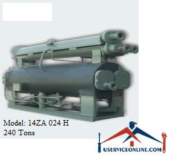 چیلر جذبی 240 تن زهش مدل 14ZA 024 H