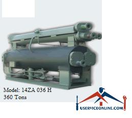 چیلر جذبی 360 تن زهش مدل 14ZA 036 H
