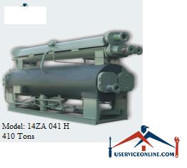چیلر جذبی 410 تن زهش مدل 14ZA 041 H