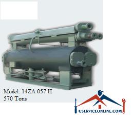 چیلر جذبی 570 تن زهش مدل 14ZA 057 H