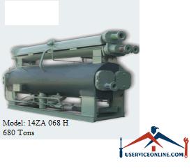 چیلر جذبی 680 تن زهش مدل 14ZA 068 H