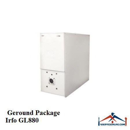 پکیج زمینی IRFO ایرفو گازوییل-گاز GL880
