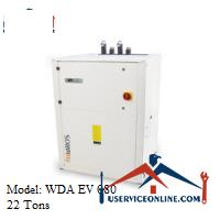 چیلر آب خنک هیدروس 22 تن مدل WDA EV 080