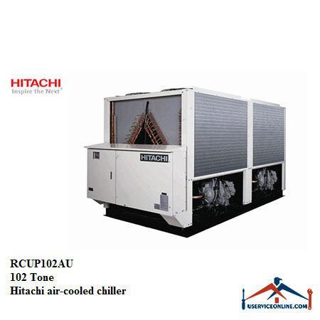 چیلر هوا خنک تروپیکال هیتاچی 102 تن مدل RCUP102AU