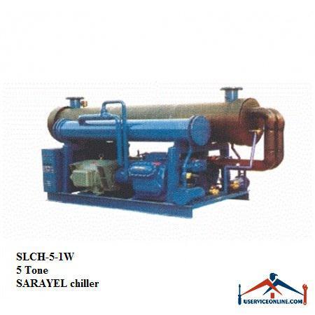 چیلر تراکمی آبی رفت و برگشتی ساراول 5تن SLCH-5-1W