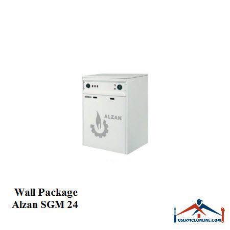 پکیج شوفاژ زمینی ALZAN آلزان SGM 24