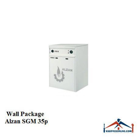 پکیج شوفاژ زمینی ALZAN آلزان SGM 35P