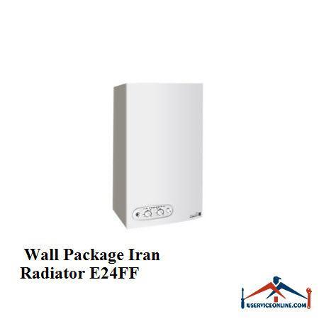 پکیج دیواری IRANRADIATOR ایران رادیاتور E24FF