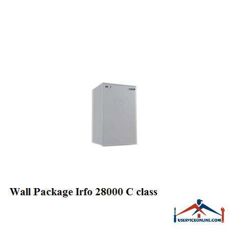 پکیج چدنی شوفاژ دیواری IRFO ایرفو 28000 کلاس C
