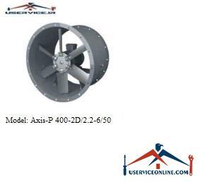 فن صنعتی بلابرگ مدل /AXIS-P 400-2D/2.2-6/50