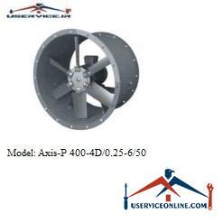 فن صنعتی بلابرگ مدل /AXIS-P 400-4D/0.25-6/50