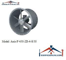 فن صنعتی بلابرگ مدل /AXIS-P 450-2D-4-8/50