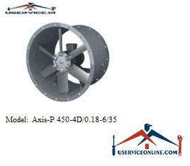 فن صنعتی بلابرگ مدل /AXIS-P 450-4D/0.18-6/35