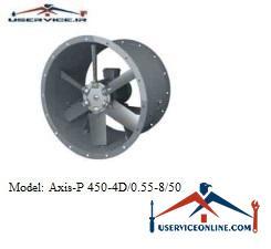 فن صنعتی بلابرگ مدل /AXIS-P 450-4D/0.55-8/50