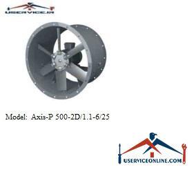 فن صنعتی بلابرگ مدل /AXIS-P 500-2D/1.1-6/25
