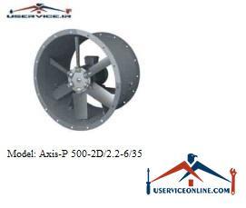 فن صنعتی بلابرگ مدل /AXIS-P 500-2D/2.2-6/35