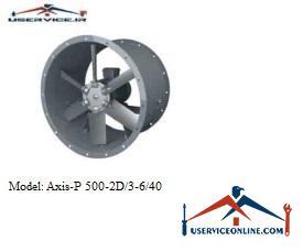 فن صنعتی بلابرگ مدل /AXIS-P 500-2D/3-6/45