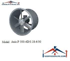 فن صنعتی بلابرگ مدل /AXIS-P 500-4D/0.18-6/30
