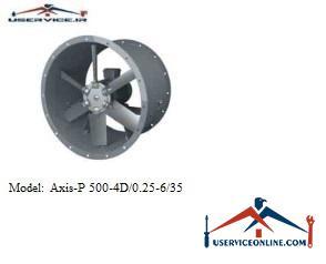 فن صنعتی بلابرگ مدل /AXIS-P 500-4D/0.25-6/35