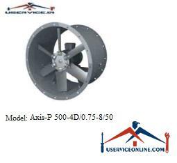 فن صنعتی بلابرگ مدل /AXIS-P 500-4D/0.75-8/50