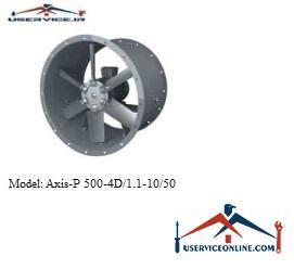 فن صنعتی بلابرگ مدل /AXIS-P 500-4D/1.1-10/50