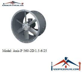 فن صنعتی بلابرگ مدل AXIS-P 560-2D/1.5-6/25