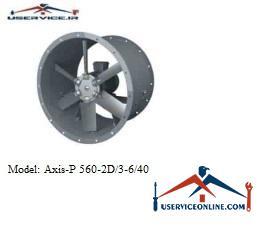 فن صنعتی بلابرگ مدل AXIS-P 560-2D/3-6/40