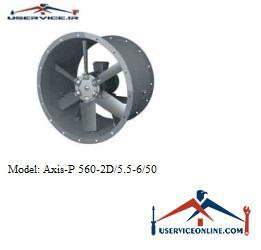 فن صنعتی بلابرگ مدل AXIS-P 560-2D/5.5-6/50