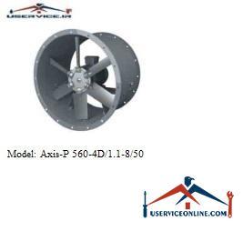 فن صنعتی بلابرگ مدل AXIS-P 560-4D/1.1-8/50