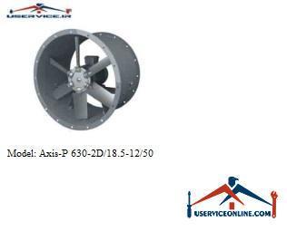 فن صنعتی بلابرگ مدل AXIS-P 630-2D/18.5-12/50