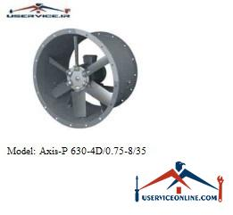 فن صنعتی بلابرگ مدل AXIS-P 630-4D/0.75-8/40