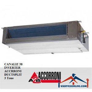 داکت اسپلیت آکرونی 3 تن مدل CANALIZ 38 INVERTER