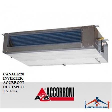 داکت اسپلیت آکرونی 1.5 تن مدل CANALIZ20 INVERTER