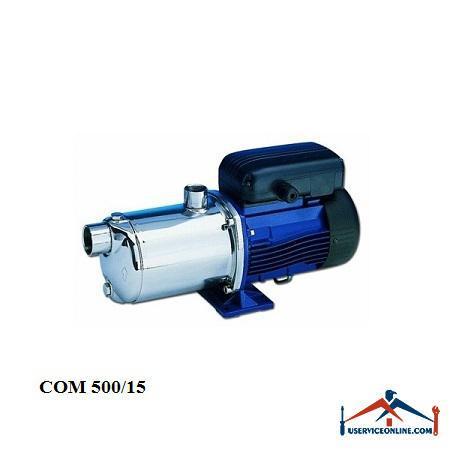پمپهای صنعتی شیمیایی لوارا تمام استیل آبرسانی مدل COM 500/15