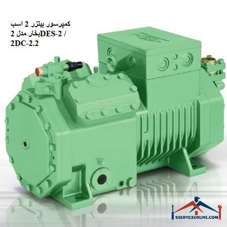 کمپرسور بیتزر 2 اسب بخار مدل 2DES-2 / 2DC-2.2