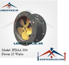 فن آکسیال ایرانیان فن مدل IFDAA 304 قدرت 25 وات
